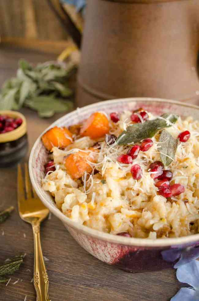 Butternut Squash Risotto - The Goldilocks Kitchen