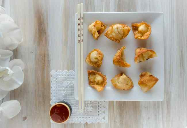 Game Day Wontons - The Goldilocks Kitchen