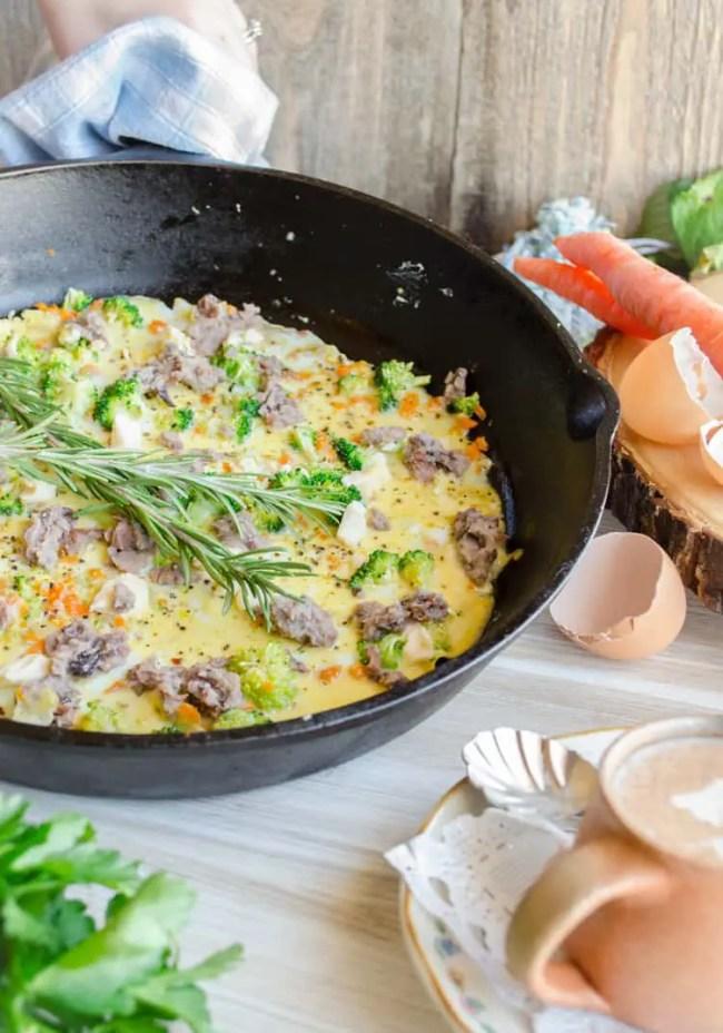 Healthy Start Omelet - The Goldilocks Kitchen