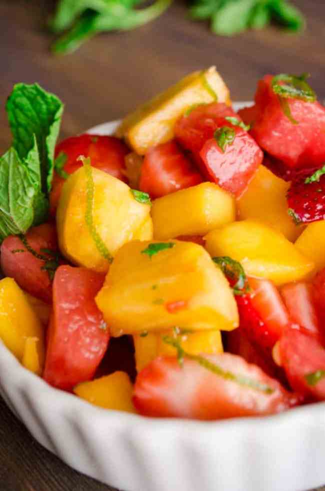Mocktail Fruit Salad - The Goldilocks Kitchen