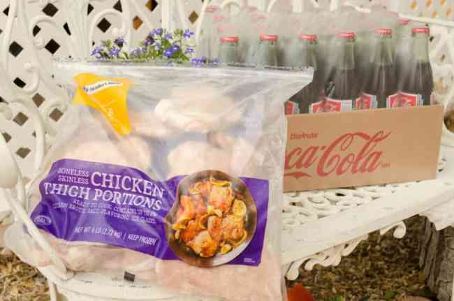 Ingredients for Southwestern Grilled Chicken Salad - The Goldilocks Kitchen