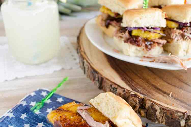Easy 30 Minute Pulled Pork Sliders with Homemade BBQ Sauce