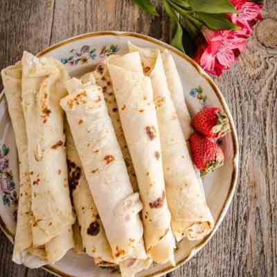 Norwegian Lefse (Potato pancakes)