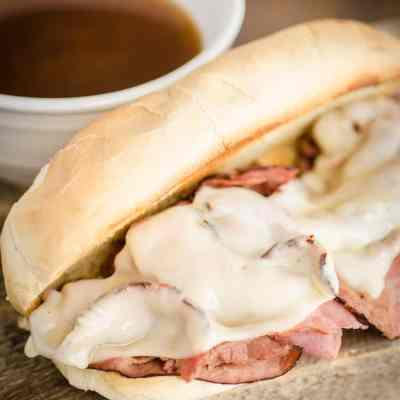 30 Minute French Dip with Au Jus Sandwiches