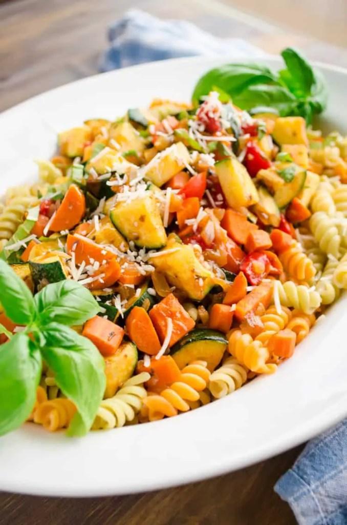 Easy Vegetable Rotini Dinner