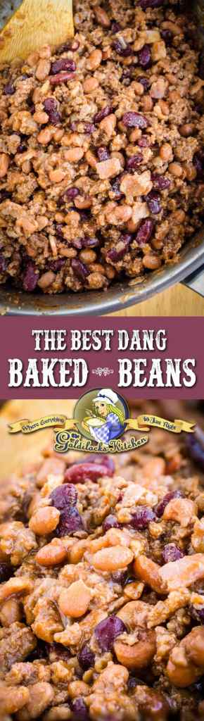 "One taste and you'll be saying, ""These are the best dang baked beans ever!"" The tangy, hearty and sweet flavor of these beans just can't be beat."