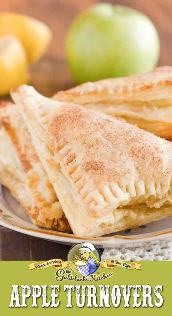 Using flaky store-bought puff pastry, all you need to make Easy Apple Turnovers is to shred up a few apples and mix in a bit of sugar and lemon juice. Sprinkle cinnamon sugar on top and pop them in the oven- get ready for super flaky, delicious, fresh Easy Apple Turnovers!