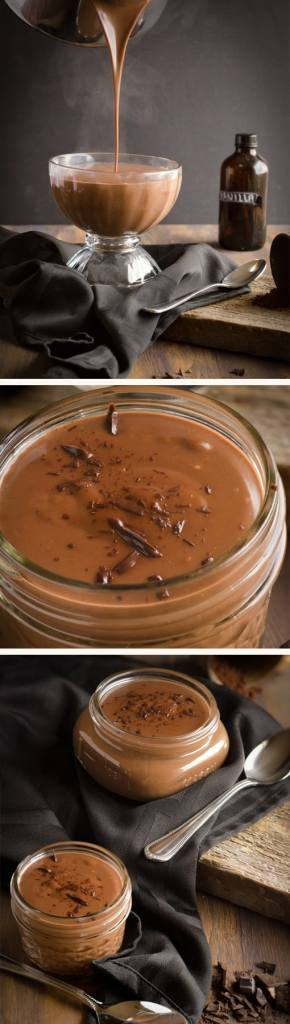 Deep, decadent chocolate flavor shines through in this Homemade Chocolate Pudding. Making your pudding homemade with high quality chocolate gives you a truly outstanding chocolate dessert.
