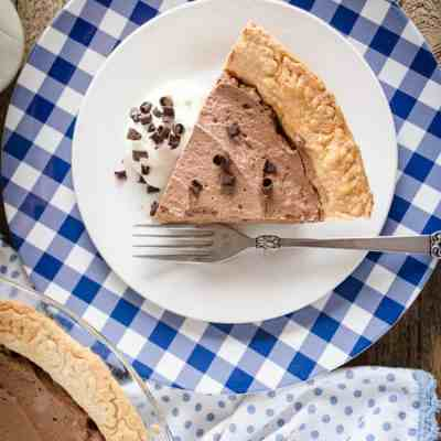 French Silk Pie without Raw Eggs