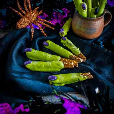 Witch Fingers Halloween Treats