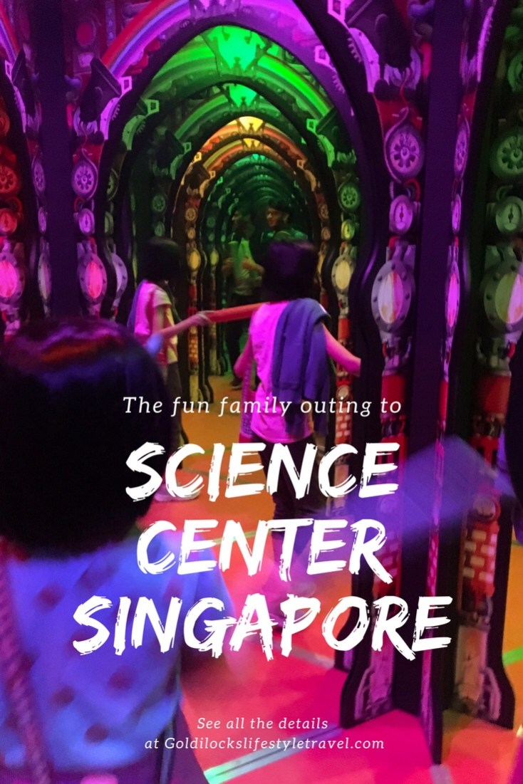 Science Center Singapore family outing