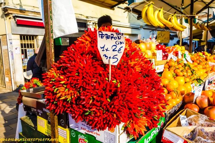 Fruits in Venice market