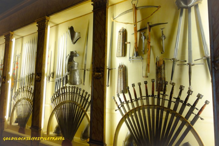 Armoury in Doge Palace Venice