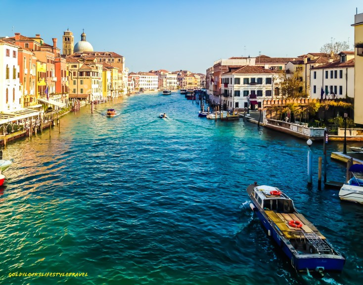 Grand Canal Venice during the day