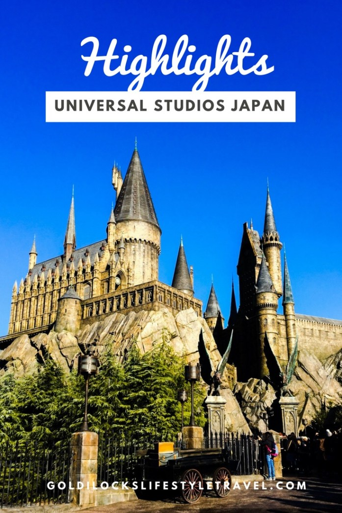 Highlights of a day in Universal Studios Japan in Osaka