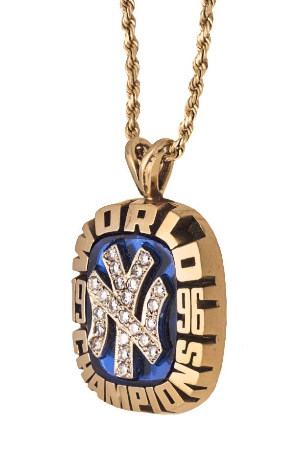 Lot Detail 1996 New York Yankees World Series Pendant