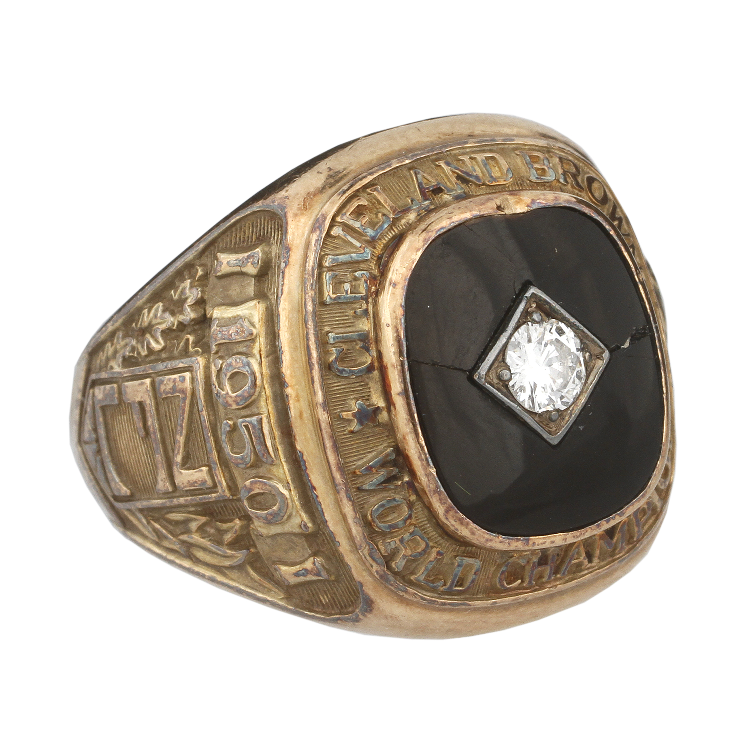 Lot Detail  1950 Cleveland Browns NFL Championship Ring