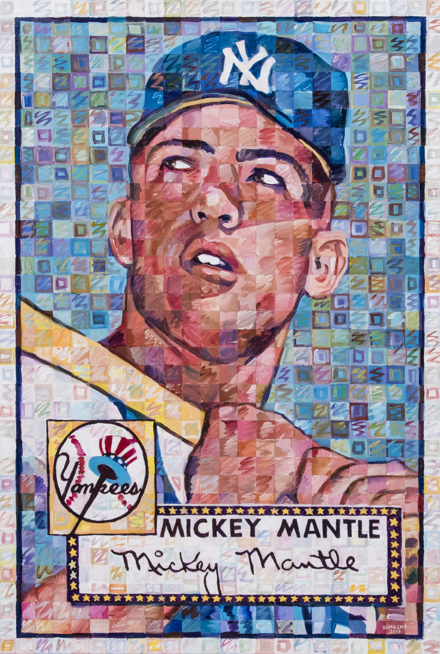 lot detail mickey mantle