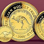 Australian Gold Kangaroo coins come in a wide variety of weight denominations