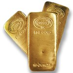 10 oz. Johnson Matthey Gold Bars