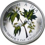 special edition release of Silver Maple Leaf