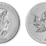 Canadian Palladium Maple Leaf Coins