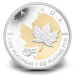 A special edition release of the Platinum Maple Leaf