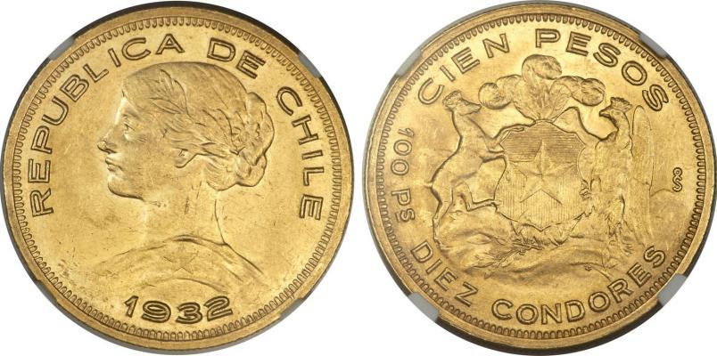 chile-gold-100-pesos