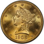 U.S. $10 Liberty Gold Coins