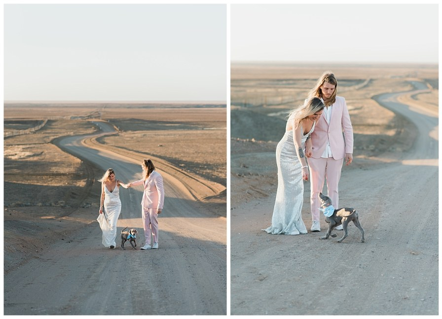 2018 08 05 0035 - Issy + Zac, Coober Pedy Elopement
