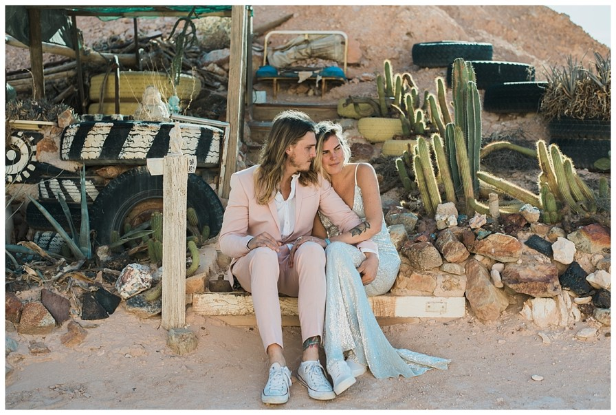 2018 08 05 0061 - Issy + Zac, Coober Pedy Elopement