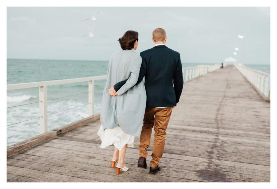 adelaidephotographer 0013 - Renee + Nic, Henley Beach Elopement