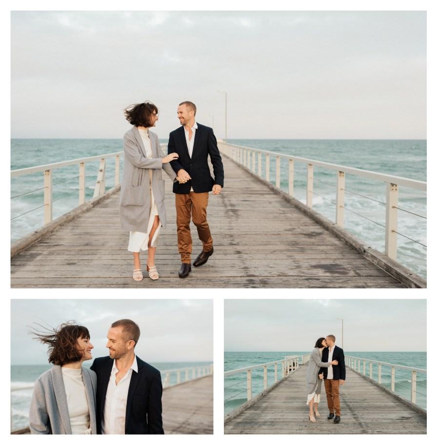 adelaidephotographer 0043 - Renee + Nic, Henley Beach Elopement