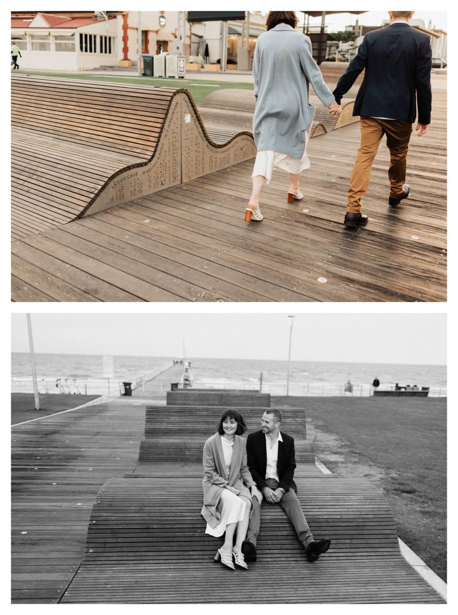 adelaidephotographer 0049 - Renee + Nic, Henley Beach Elopement
