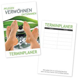 Podologie Terminkarte FUß RELAX