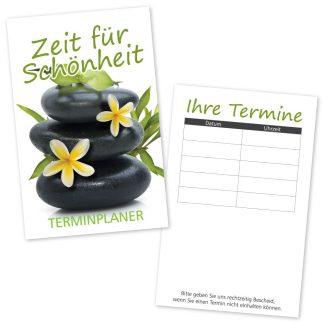 Terminkarte RELAING GREEN