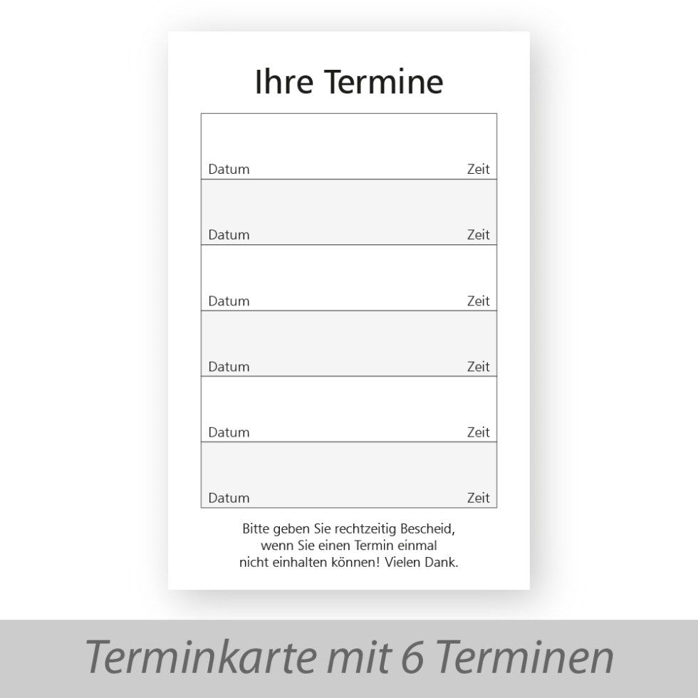 Visitenkarten Goldmarie Agentur