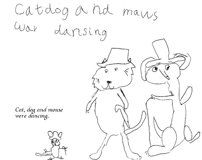 Timea's Dog, Cat and Mouse book