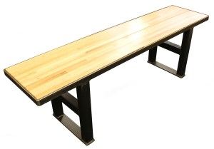 Mill Series Backless Bench 14X60 Steel Base