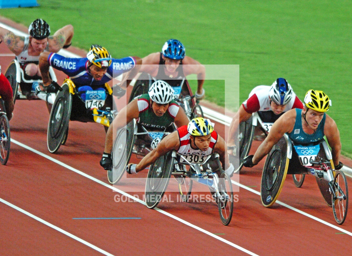 wheelchair olympics most comfortable beach chair heros 2004 athens gold medal impressions