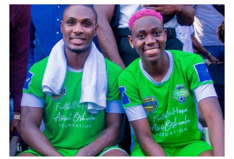 Ighalo brands Oshoala as best striker in the world after fourth AWPOTY