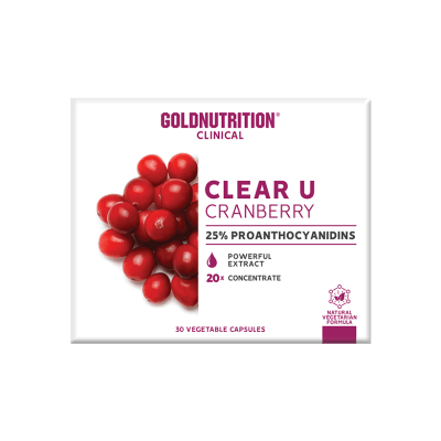 Clear-U GoldNutrition Urinary Infections