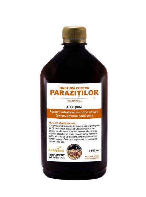 Tinctura contra Parazitilor 500ml