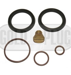 primer fuel filter seal rebuild kit and bleeder screw for 2001 2010 gm duramax fuel filter housing [ 1800 x 1696 Pixel ]