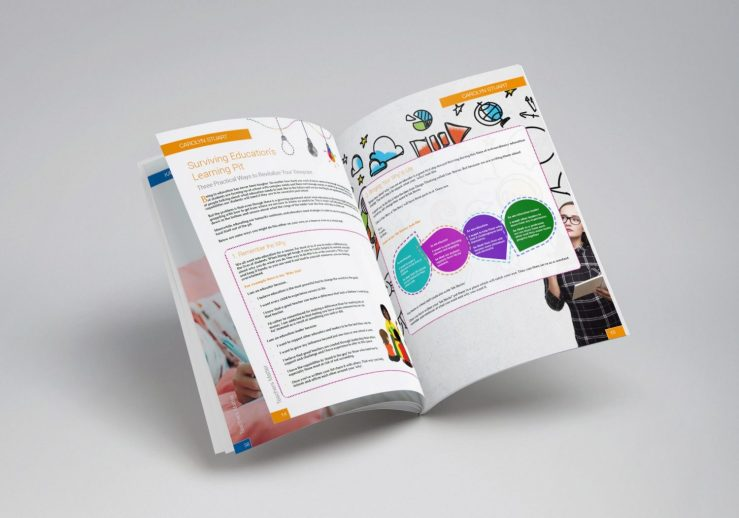Graphic design and magazine design brighouse west yorkshire