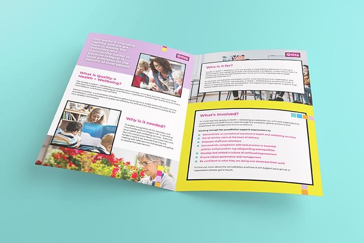 Funky Booklet Design