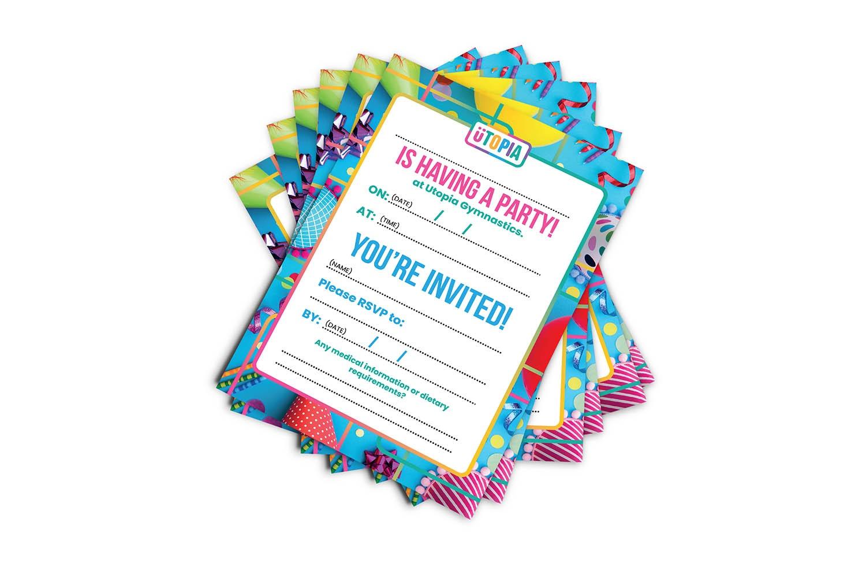 Party and Event Invitation Design