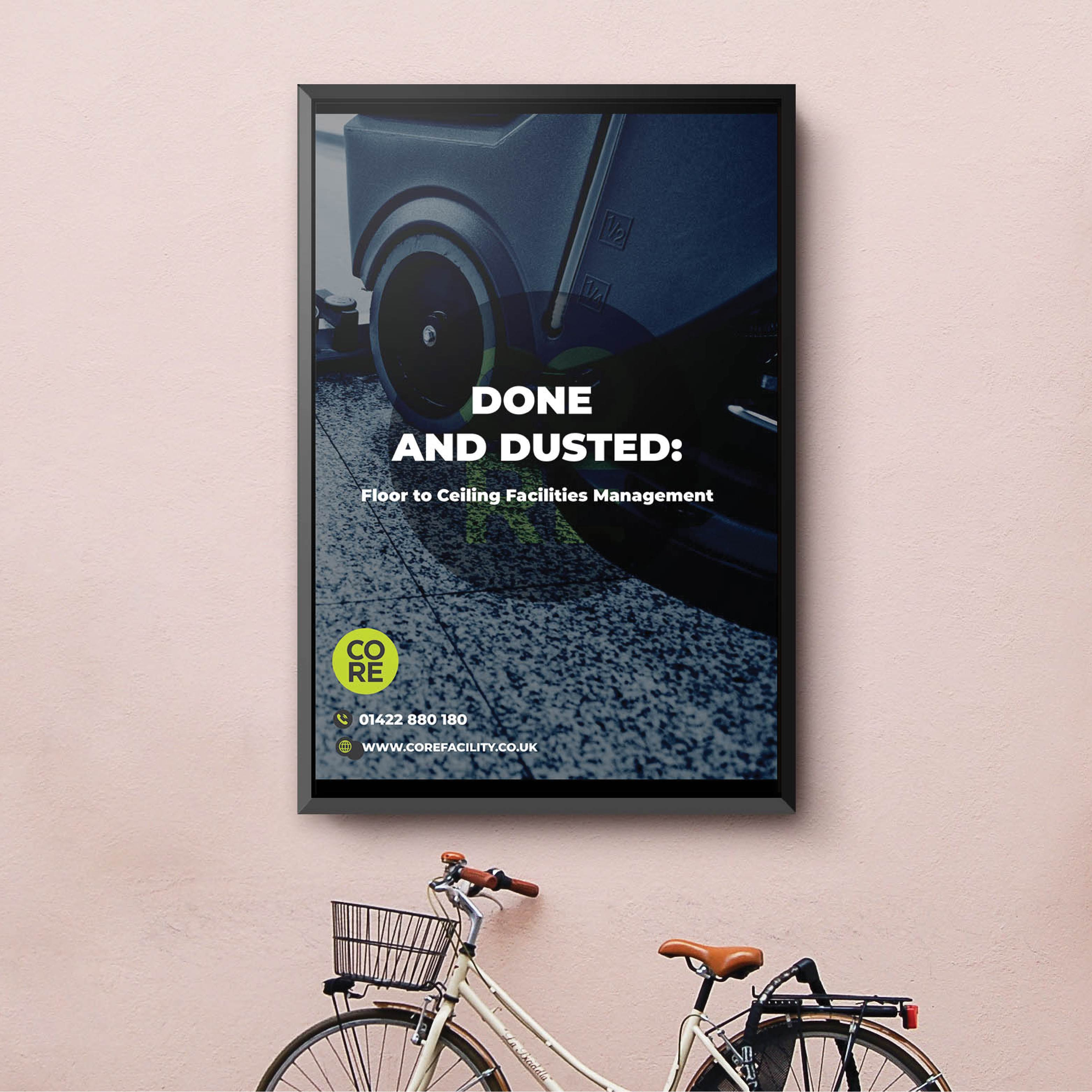 Poster Design for company in Huddersfield