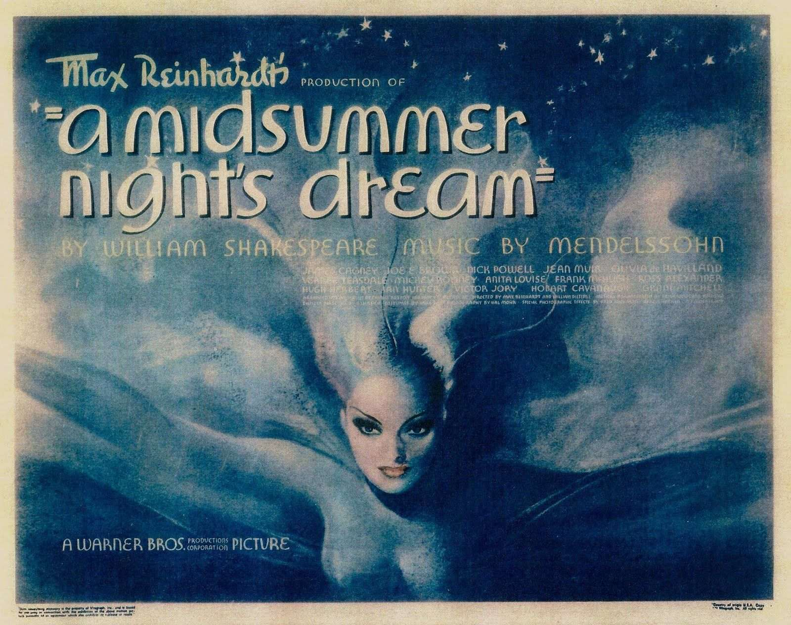 Max Reinhardt S A Midsummer Night S Dream Ltd