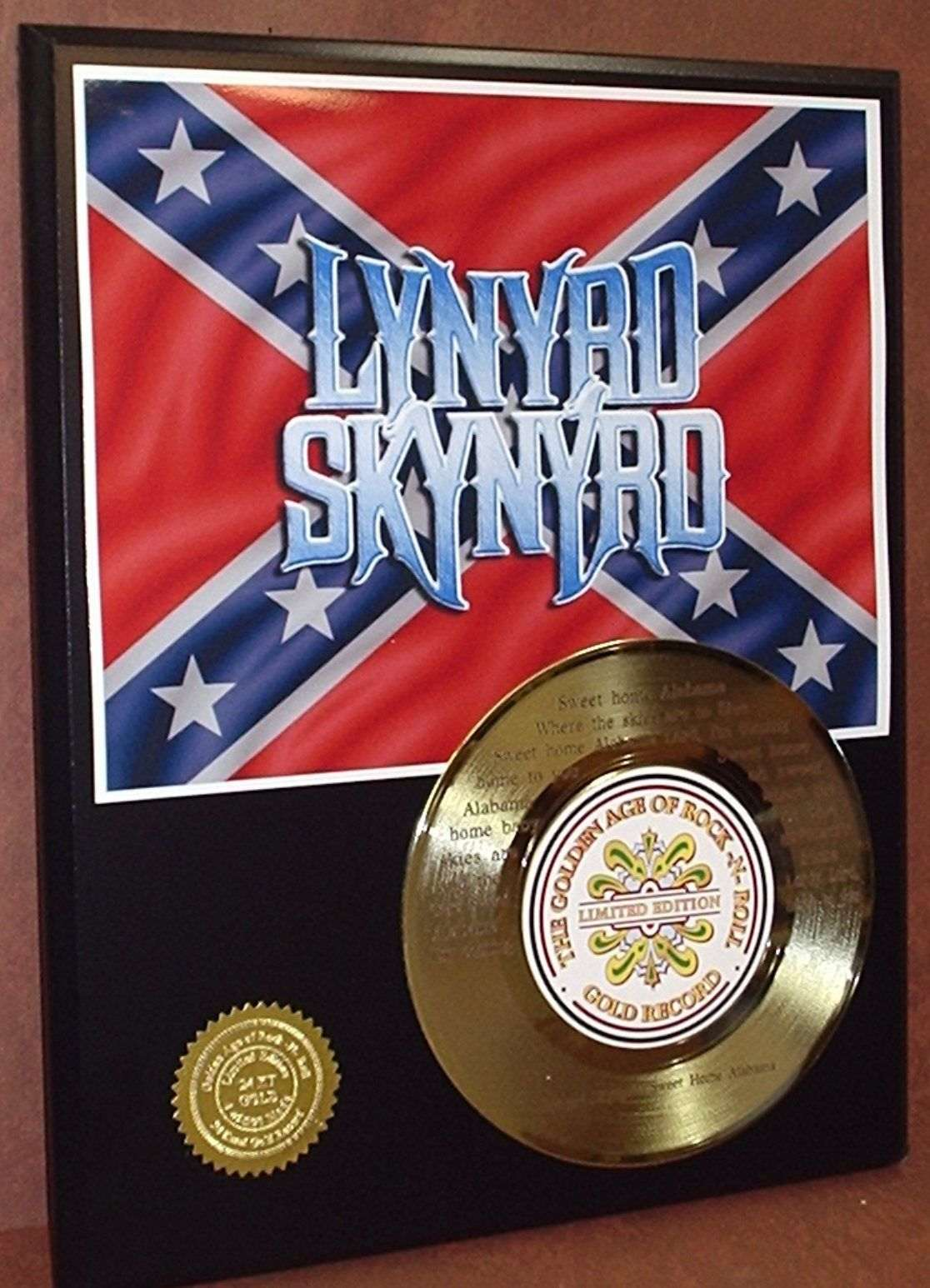 Sweet home alabama (oh, sweet home, baby) where the skies are so blue (and the governor's true) sweet home alabama … Lynyrd Skynyrd Sweet Home Alabama Etched Lyrics 45 Gold Record Ltd Edition Gold Record Outlet Album And Disc Collectible Memorabilia
